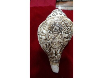 Mahakala Conch Shell