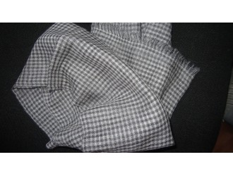 Checks Cashmere stole