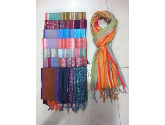 Cotton Stripes Scarf