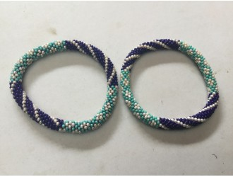 Glass Beads Roll Bracelets