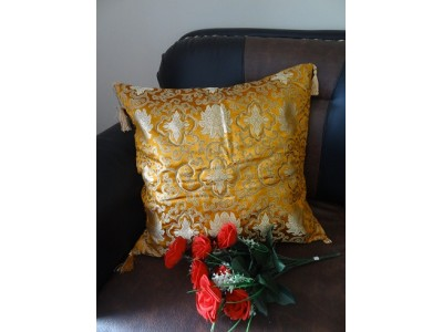 Broked Silk Cushion Cover