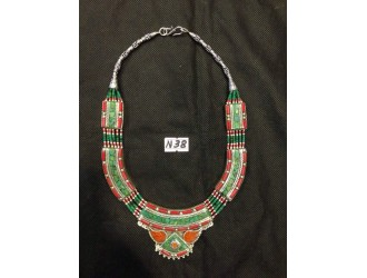 Multi-color Beads Necklace