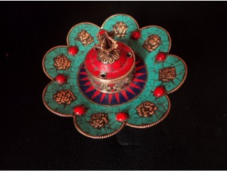 Flower Incense Burner